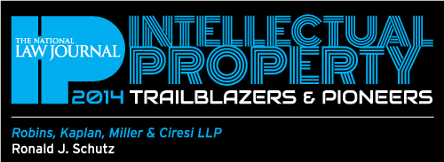 IP Trailblazers and Pioneers - Ronald Schutz