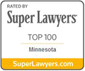 Rated by Super Lawyers Top 100, Minnesota